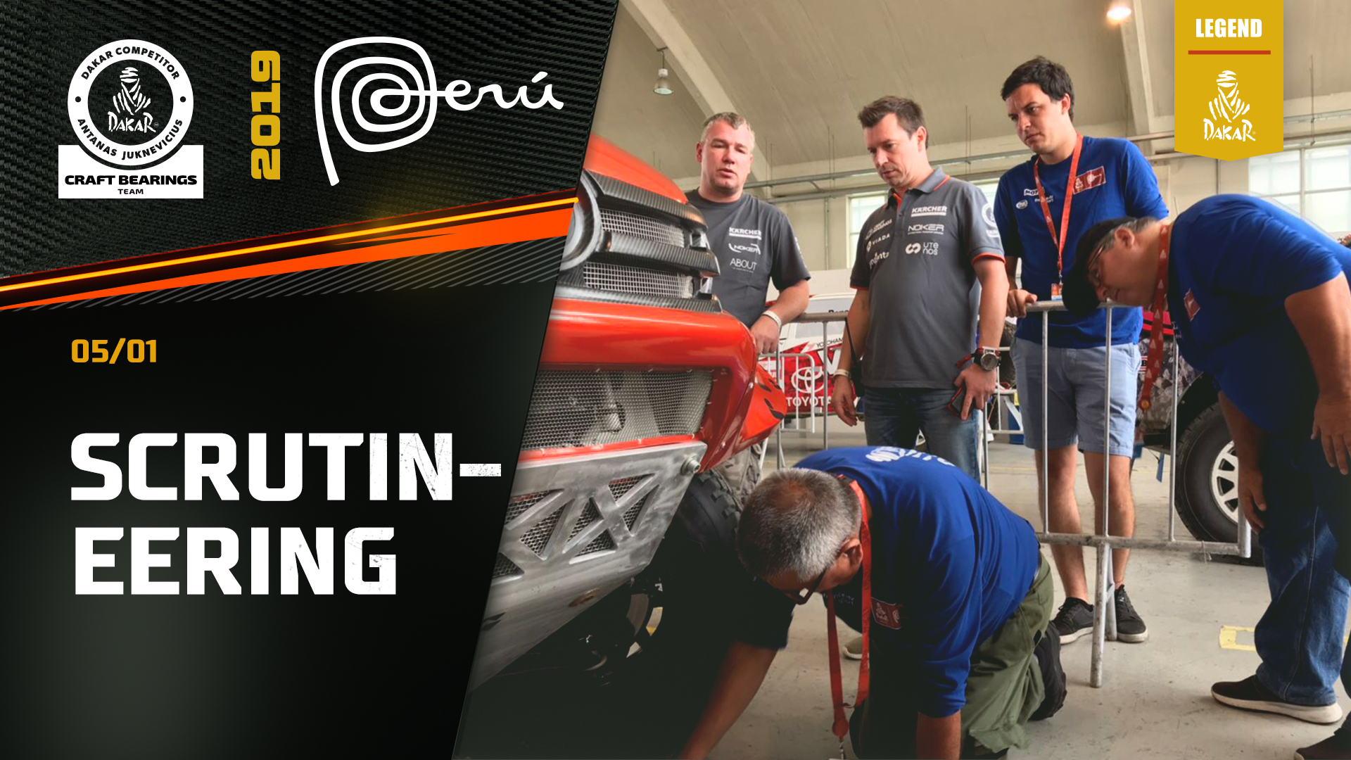 Dakar Rally 2019. Technical Scrutineering