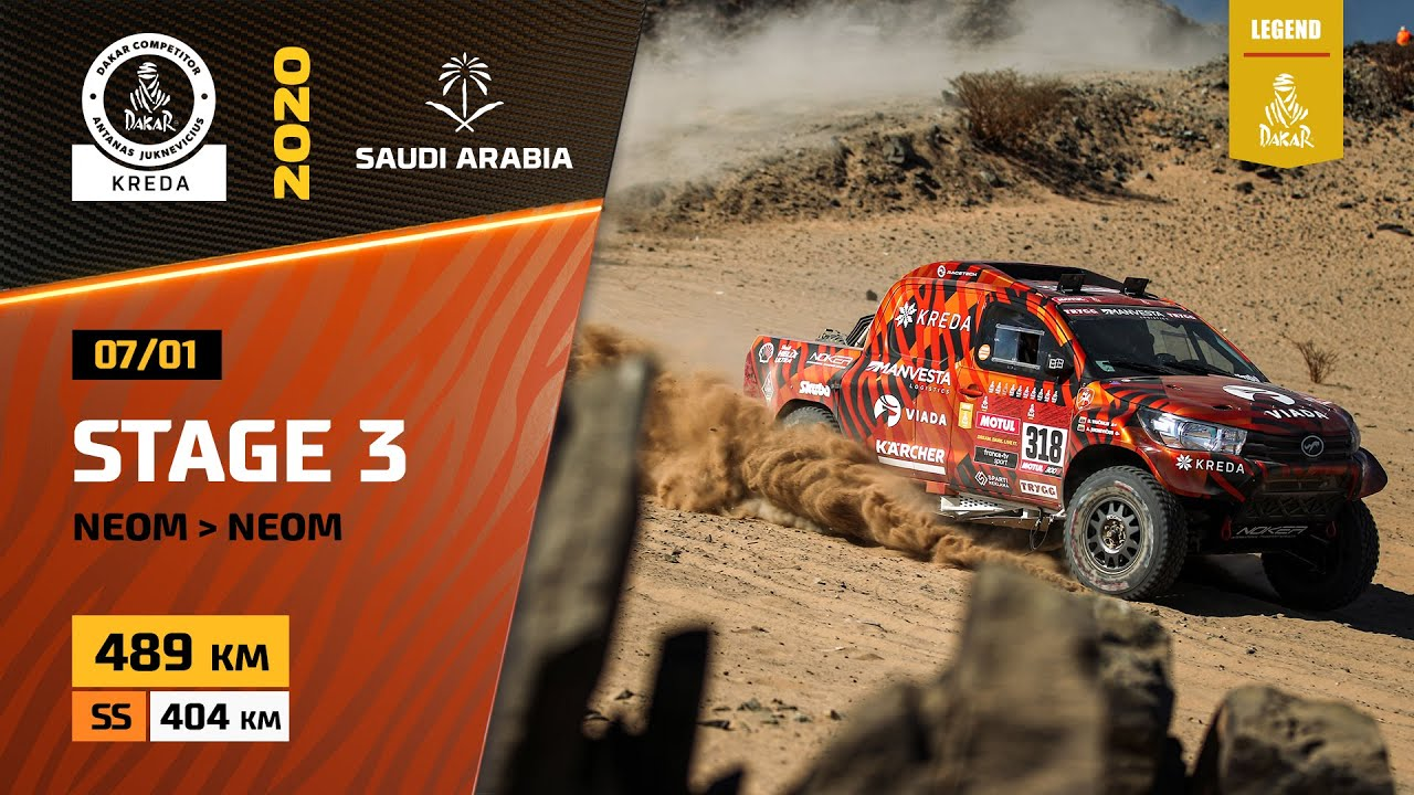 Dakar Rally 2020. Stage 3 Highlights Neom - Neom