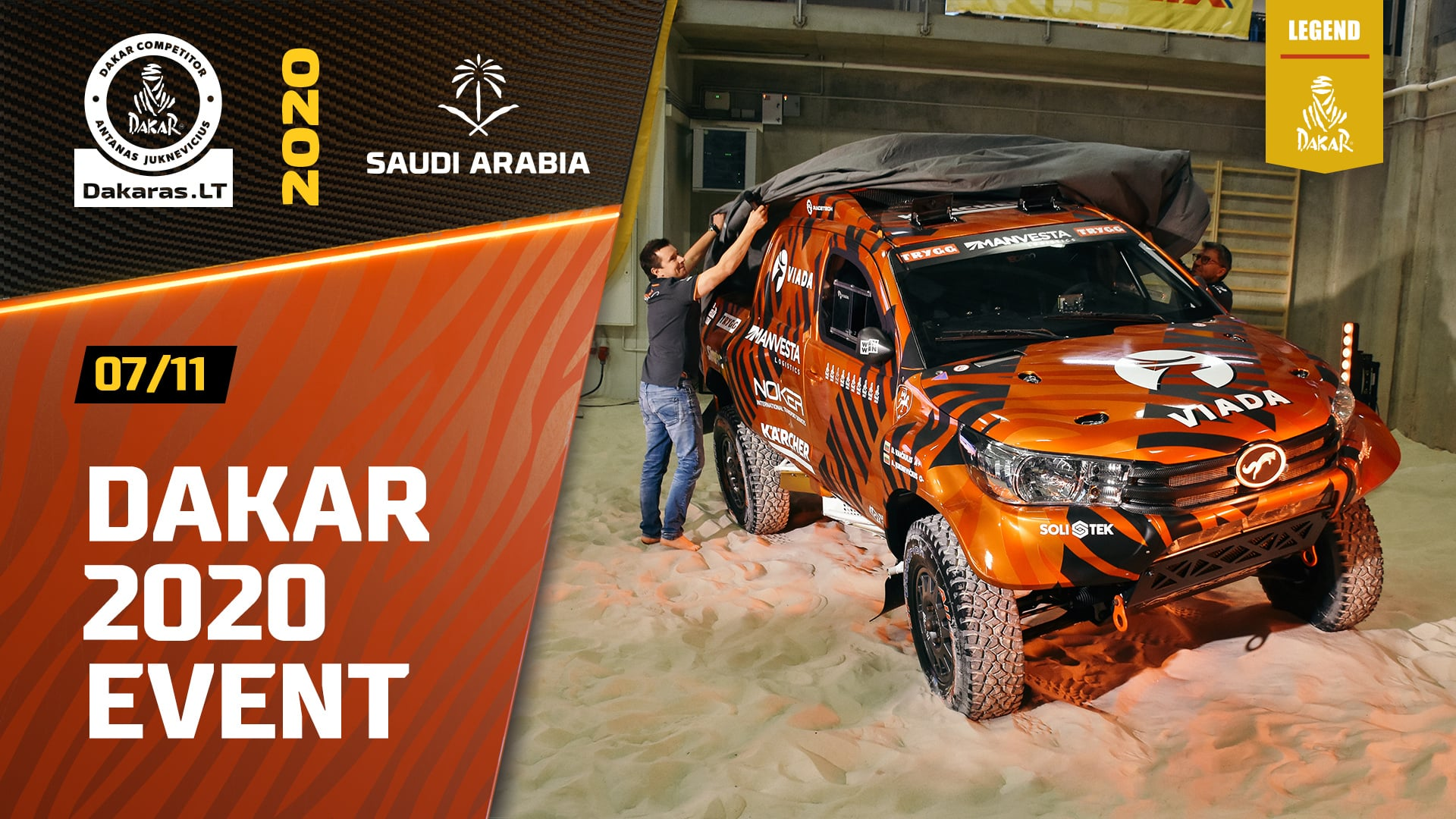 Dakar Rally 2020. New Safari Design Team Presentation