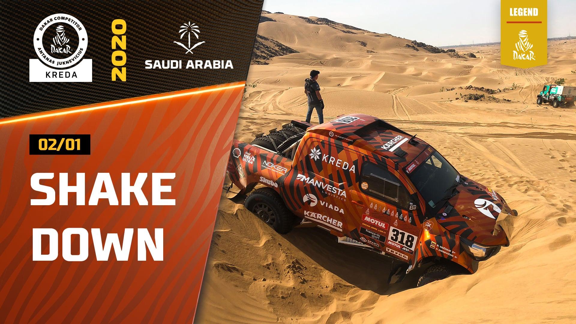 Dakar Rally 2020. Shakedown Session & Friendly Race with KAMAZ Before Dakar Rally Start