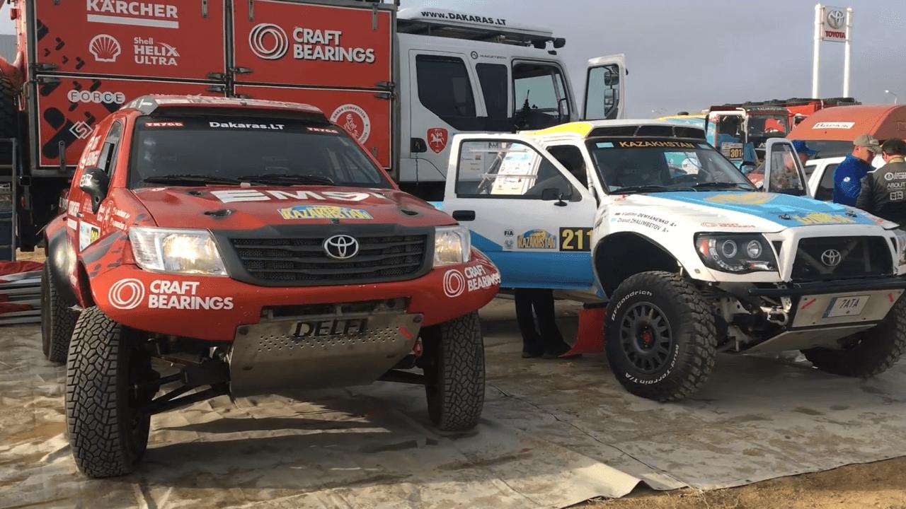 """FIA """"Cross-Country"""" pasaulio čempionatas Kazachstane – 1 etapas"""