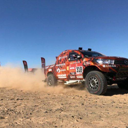 KREDA komanda įveikė pirmąjį Dakaro greičio ruožą
