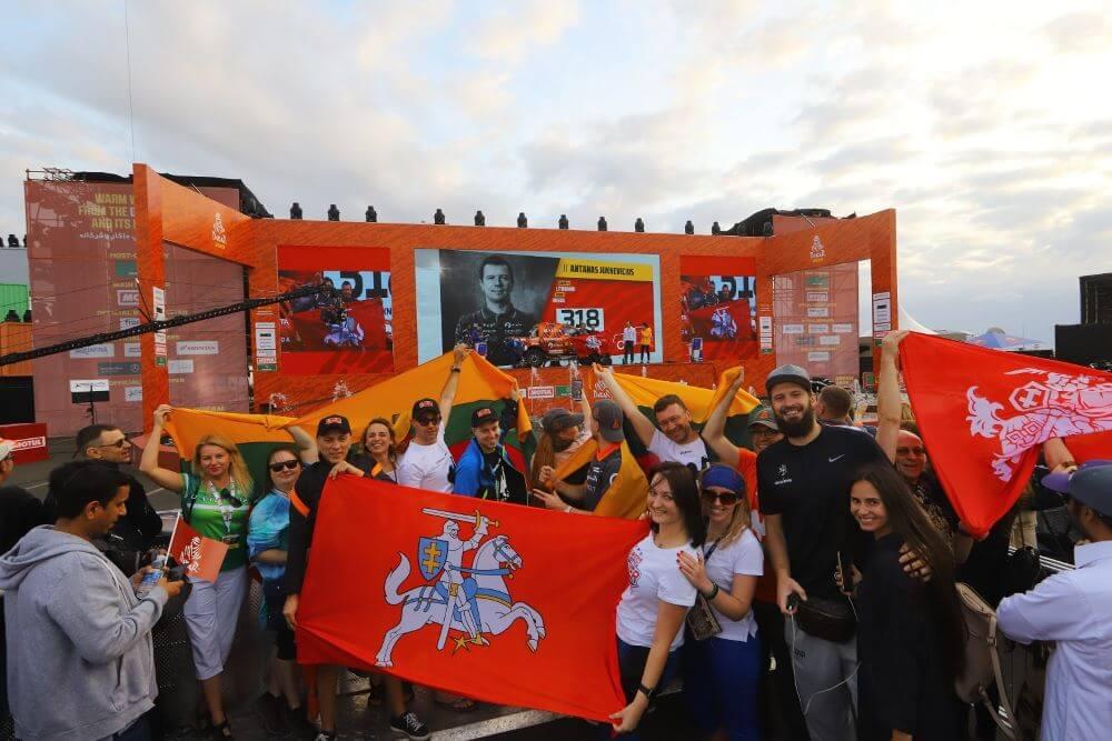 A. Juknevičius po 11-ojo Dakaro podiumo: greičiau į kopas