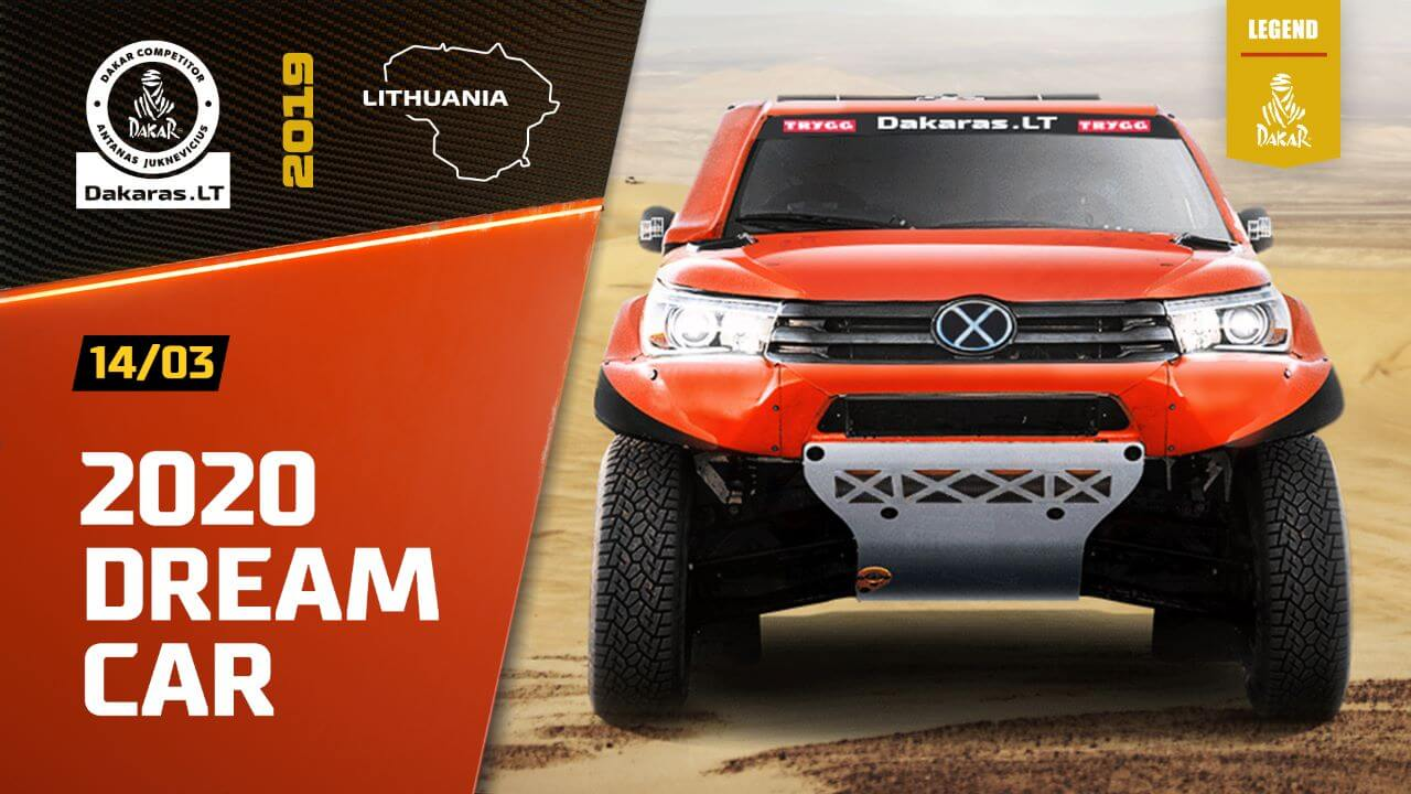 Road to Dakar Rally 2020. Support Our Goal of a New Car