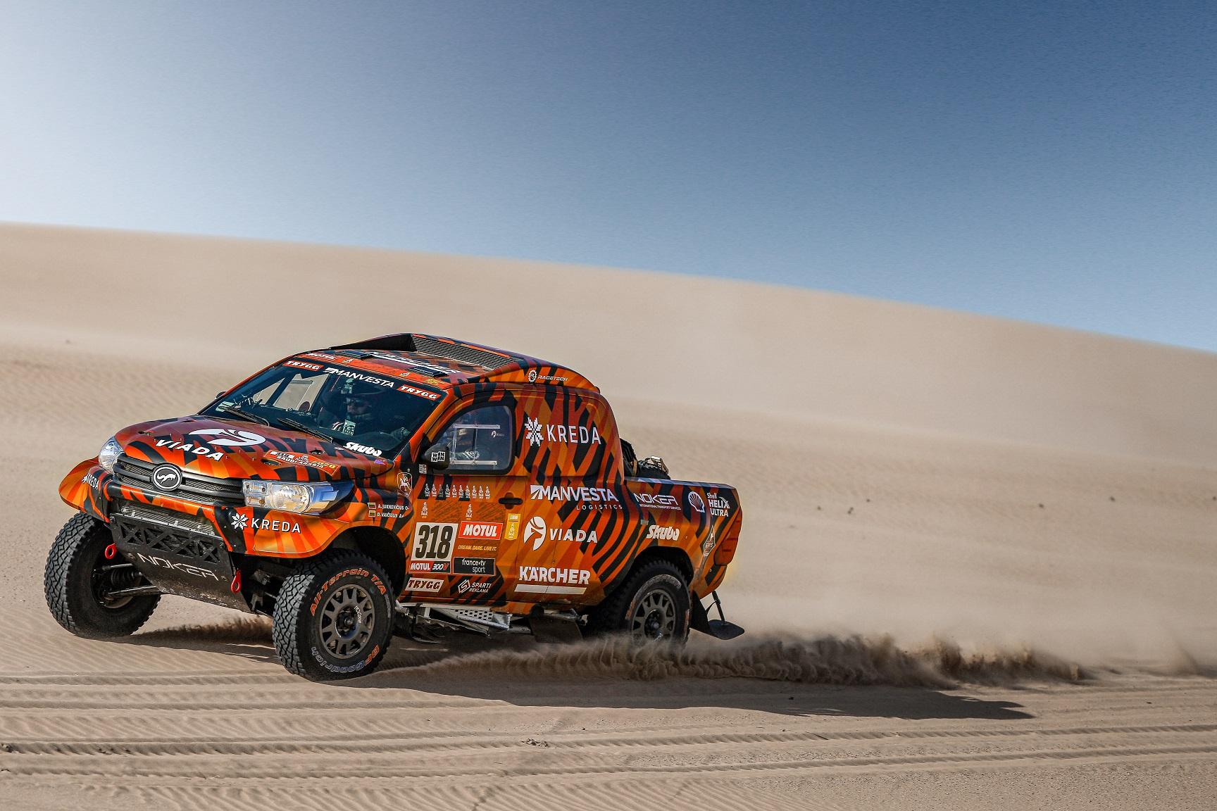 Dakaro pankų duetas pasiruošęs dar vienam dykumų iššūkiui
