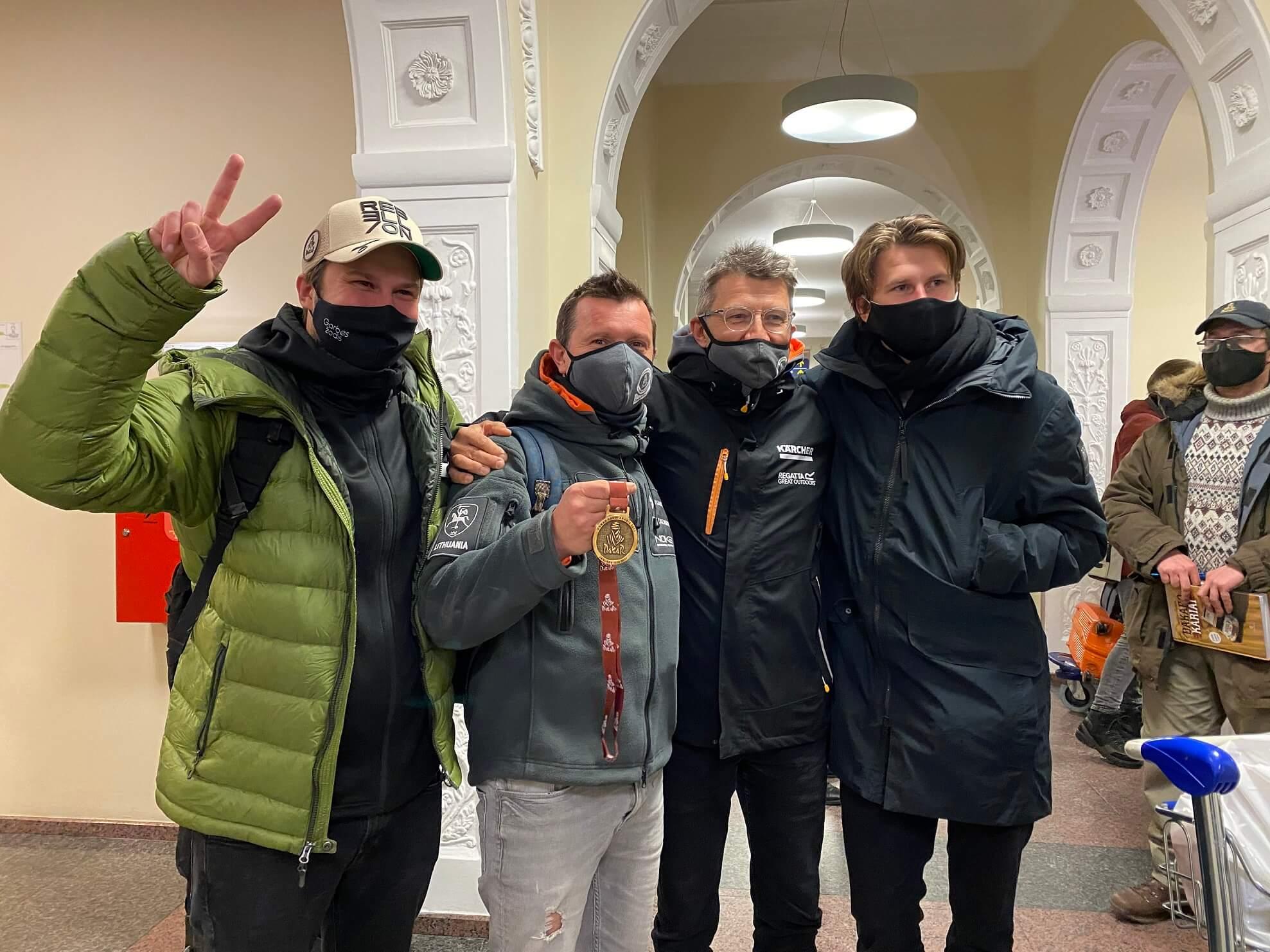 Antrą lietuvių rezultatą Dakare fiksavęs Juknevičius: planas atsinaujinti techniką perkeliamas į šiuos metus