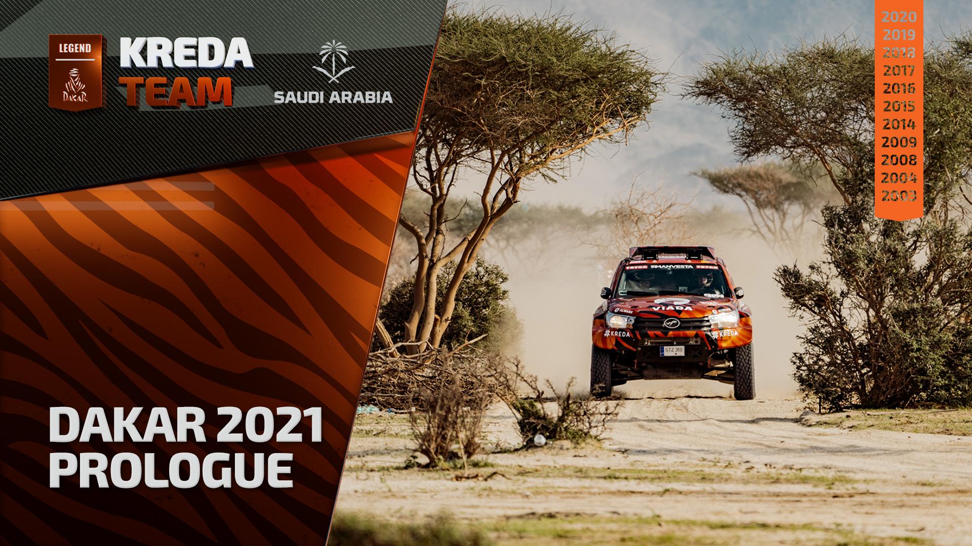 Dakar Rally 2021. Prologue