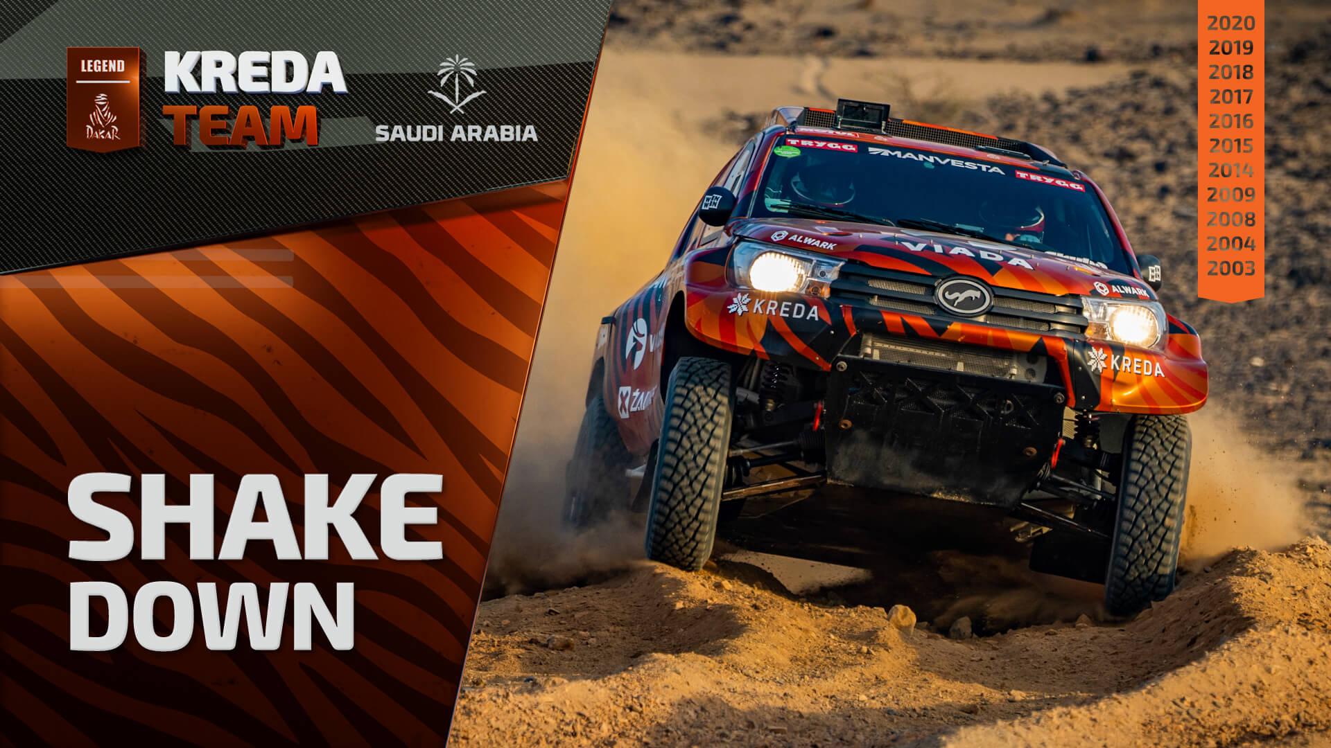 Dakar Rally 2021. Shakedown Session Before Dakar Rally Start