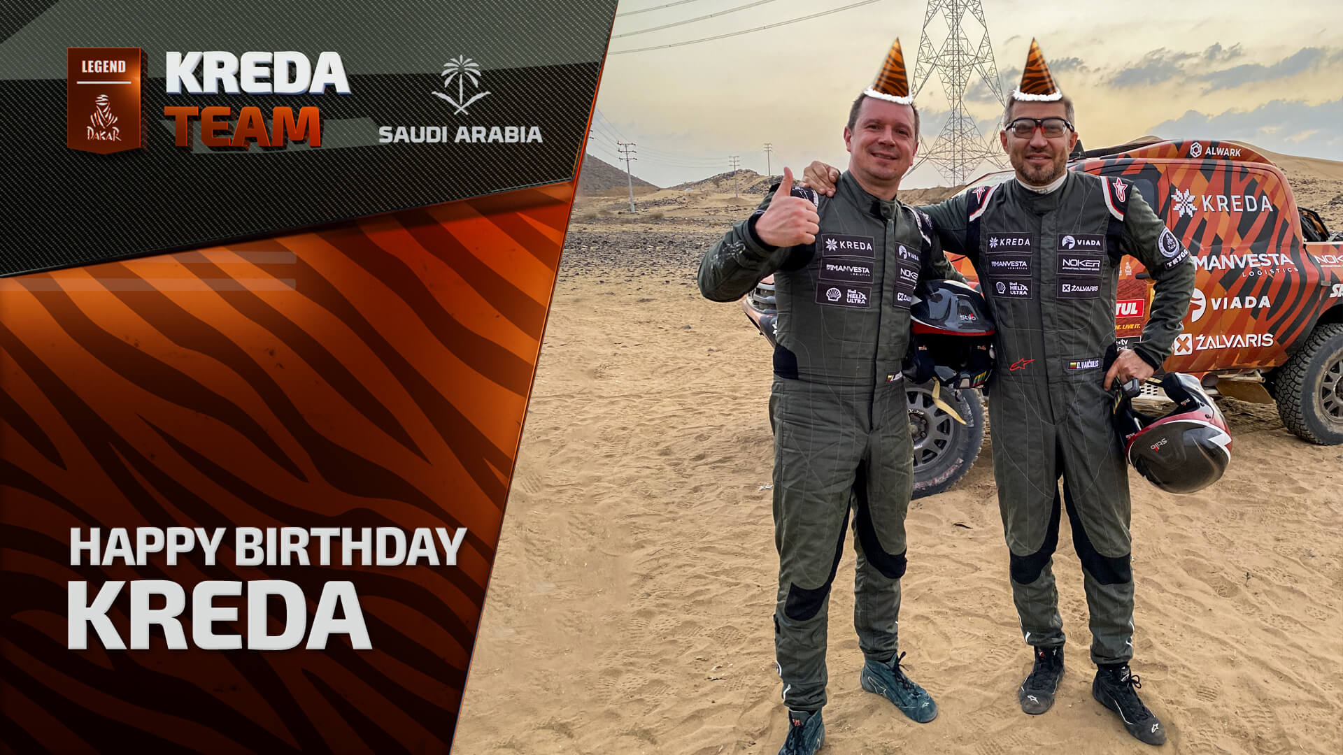 Wishing happy birthday to Kreda!